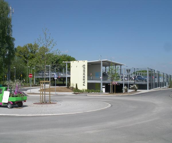 Parkhaus Bondorf Baujahr 2010